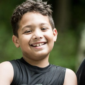 boy at Camp Ramsbottom