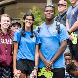 teens at Camp Ramsbottom
