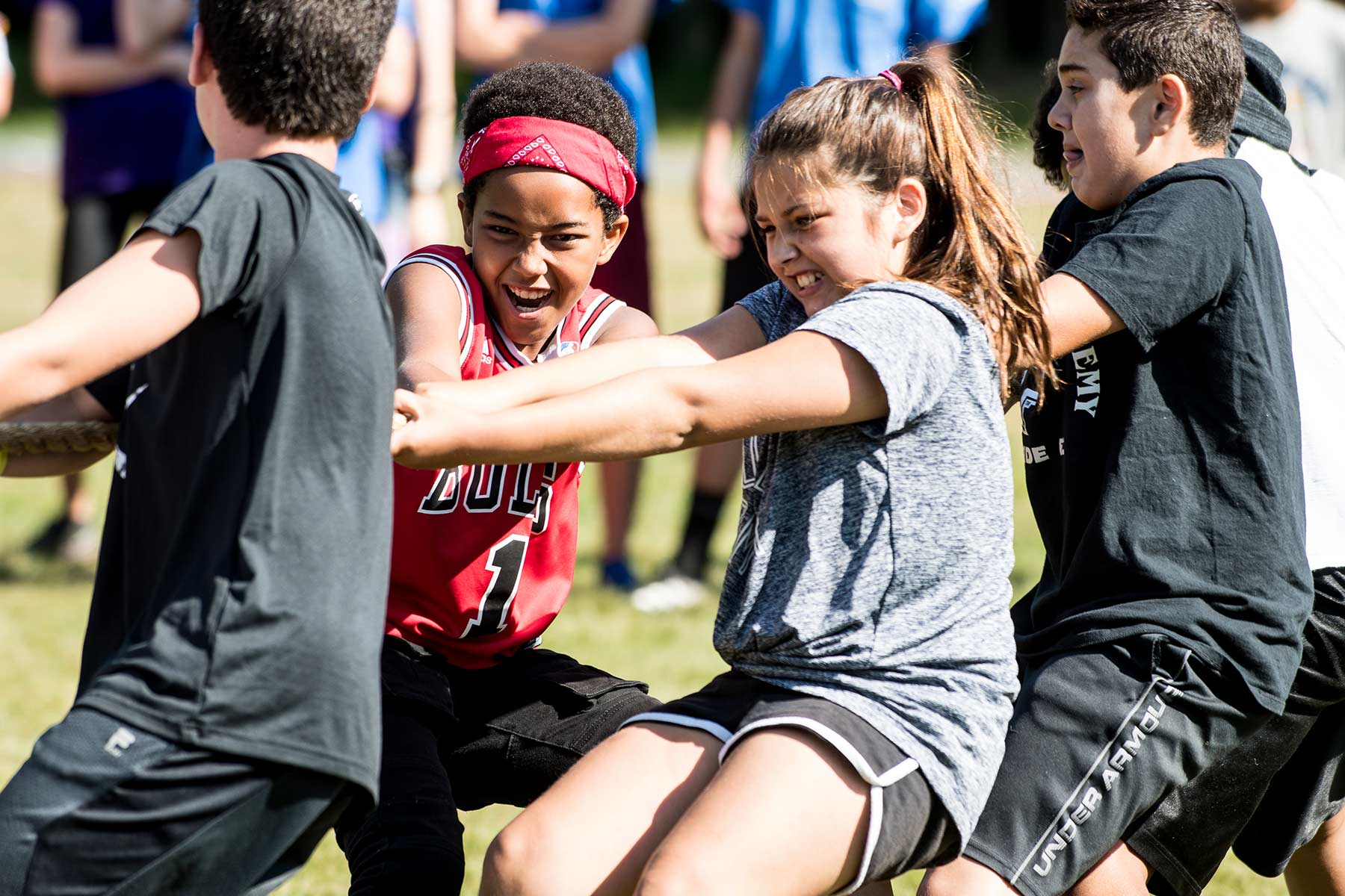 games at Camp Ramsbottom