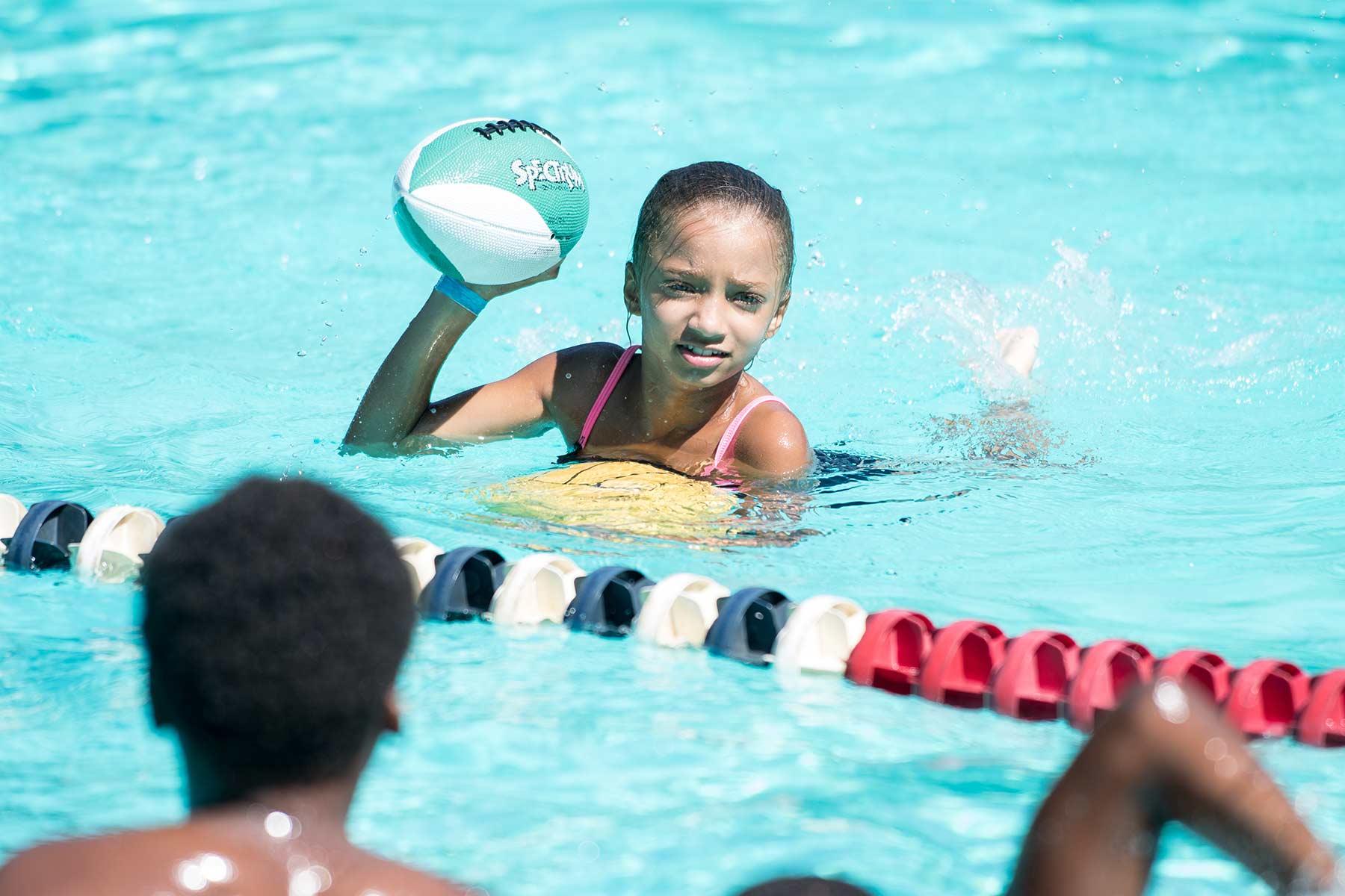 swimming at BGCPawt