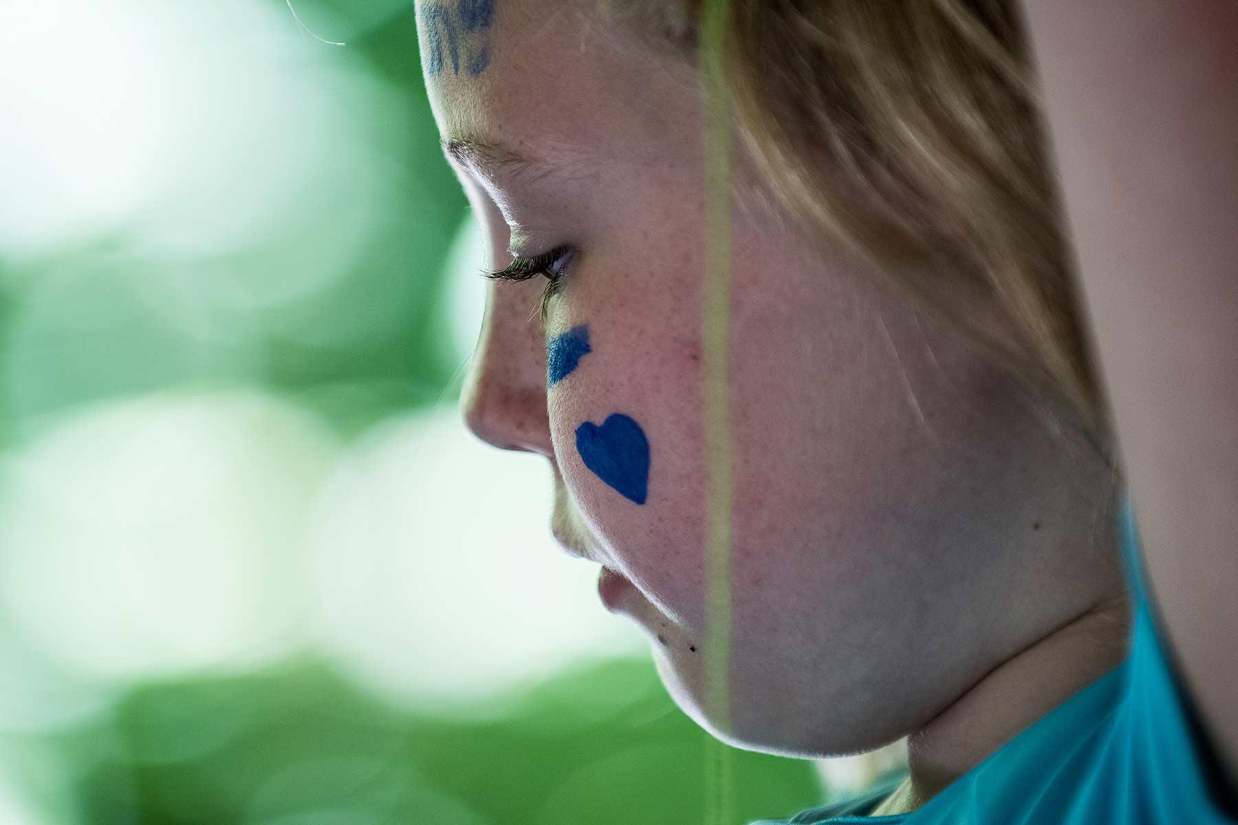 girl at Camp Ramsbottom