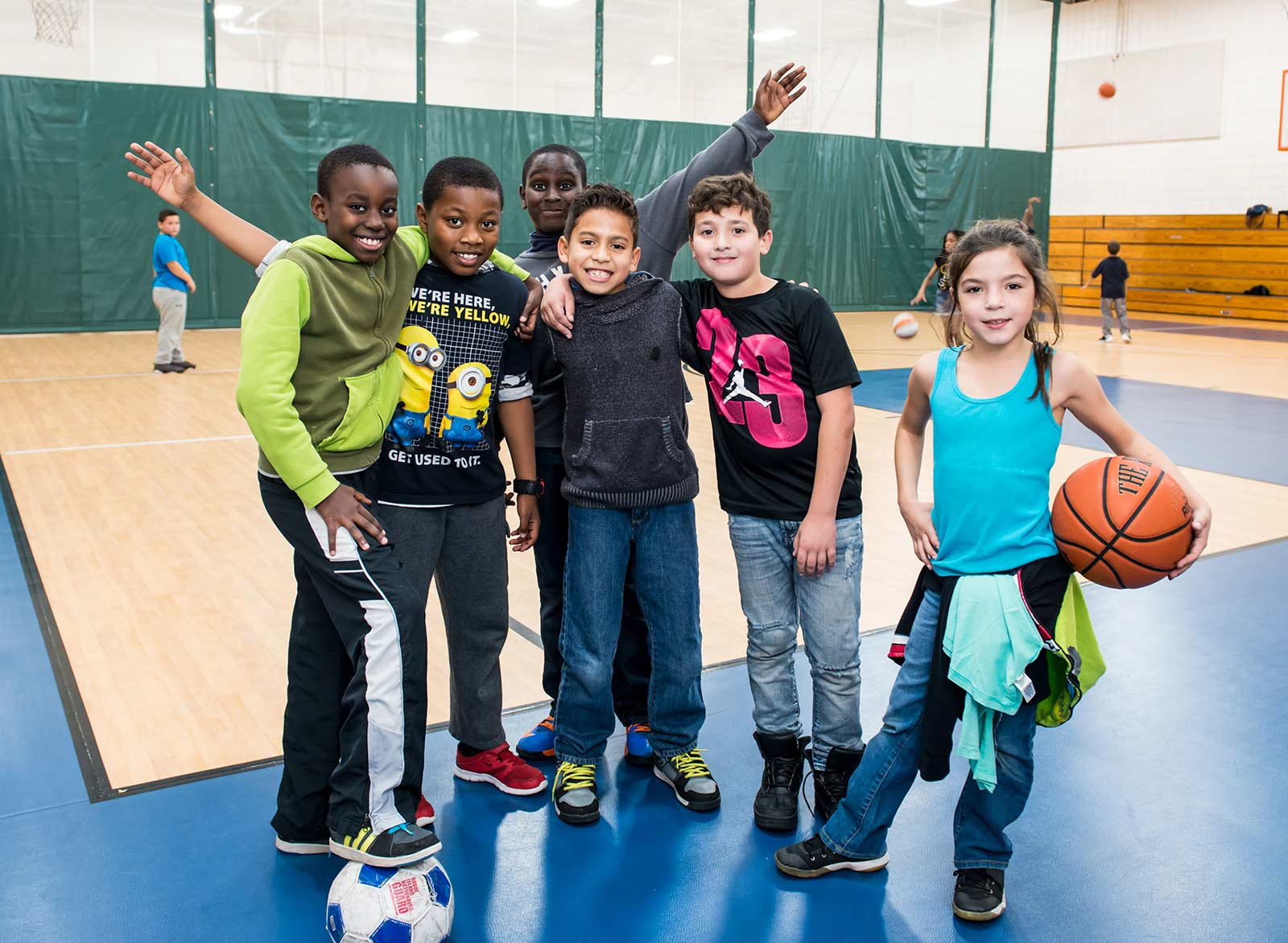 pre-teens at Boys & Girls Club of Pawtucket