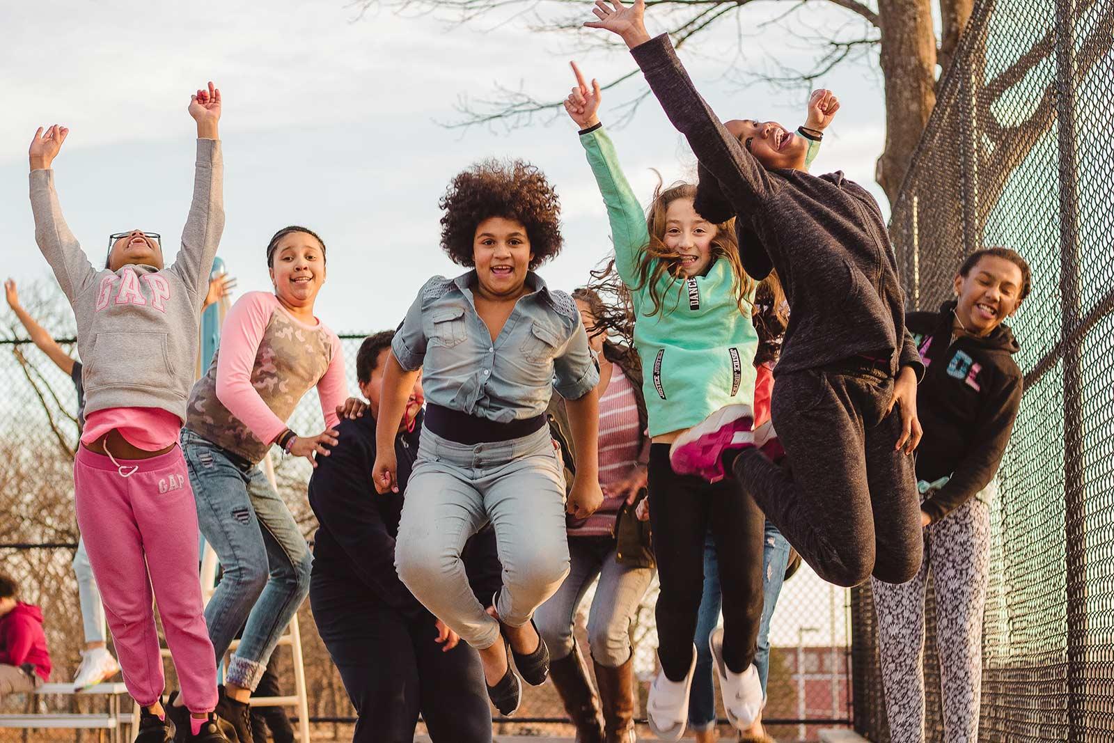 teens at Boys & Girls Club of Pawtucket