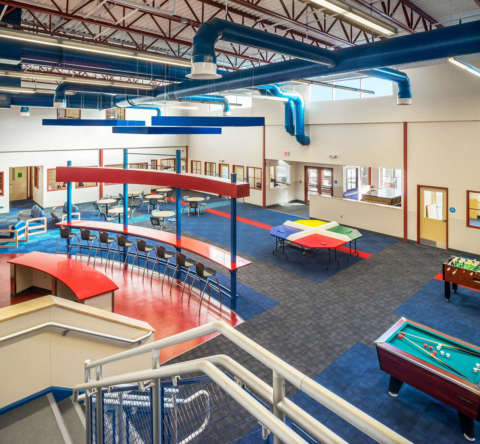 Teen Center Elson Clubhouse at Boys & Girls Club of Pawtucket