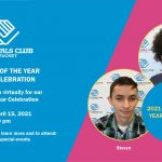2021 Youth of the Year Virtual Celebration Invite